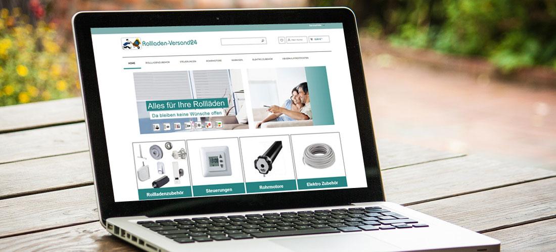 Onlineshop für Rollläden