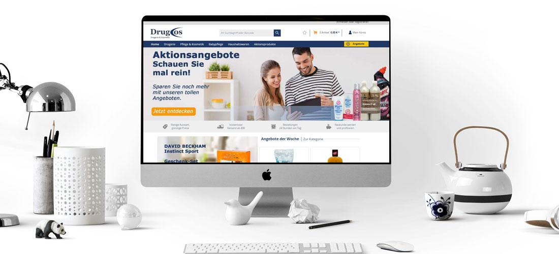 Onlineshop für Drogerieartikel
