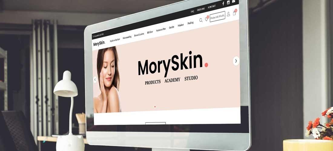 Online Shop für Produkte aus Ästhetik und Kosmetik
