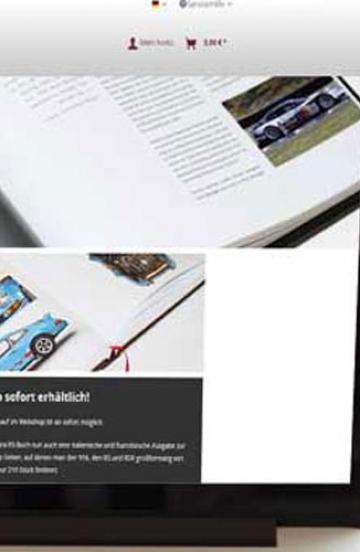 Shop für Motorsportverlag