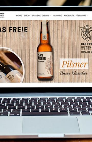 Online Shop für Craft Bier der Gutshof Brauerei