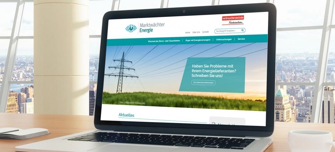 """Internetauftritt für den """"Energiewächter"""""""