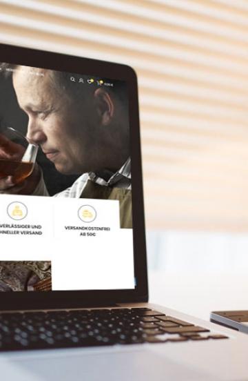 Online Shop für Honigwein